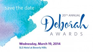 Deborah Awards E-Save the Date