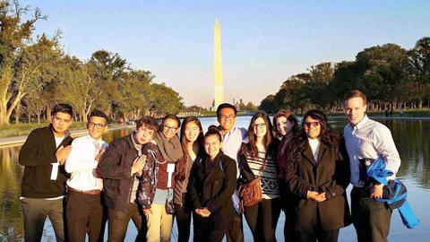 NYLM at Washington Monument